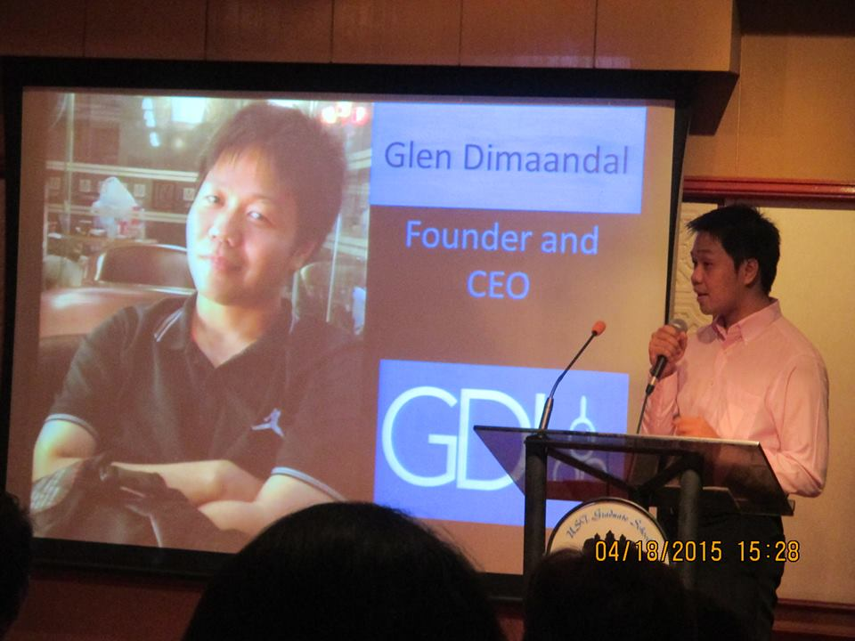 Glen Dimaandal SEO and Digital Marketing Speaker