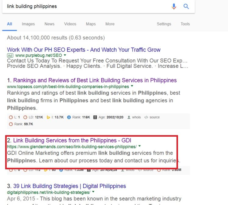 Link Building Philippines
